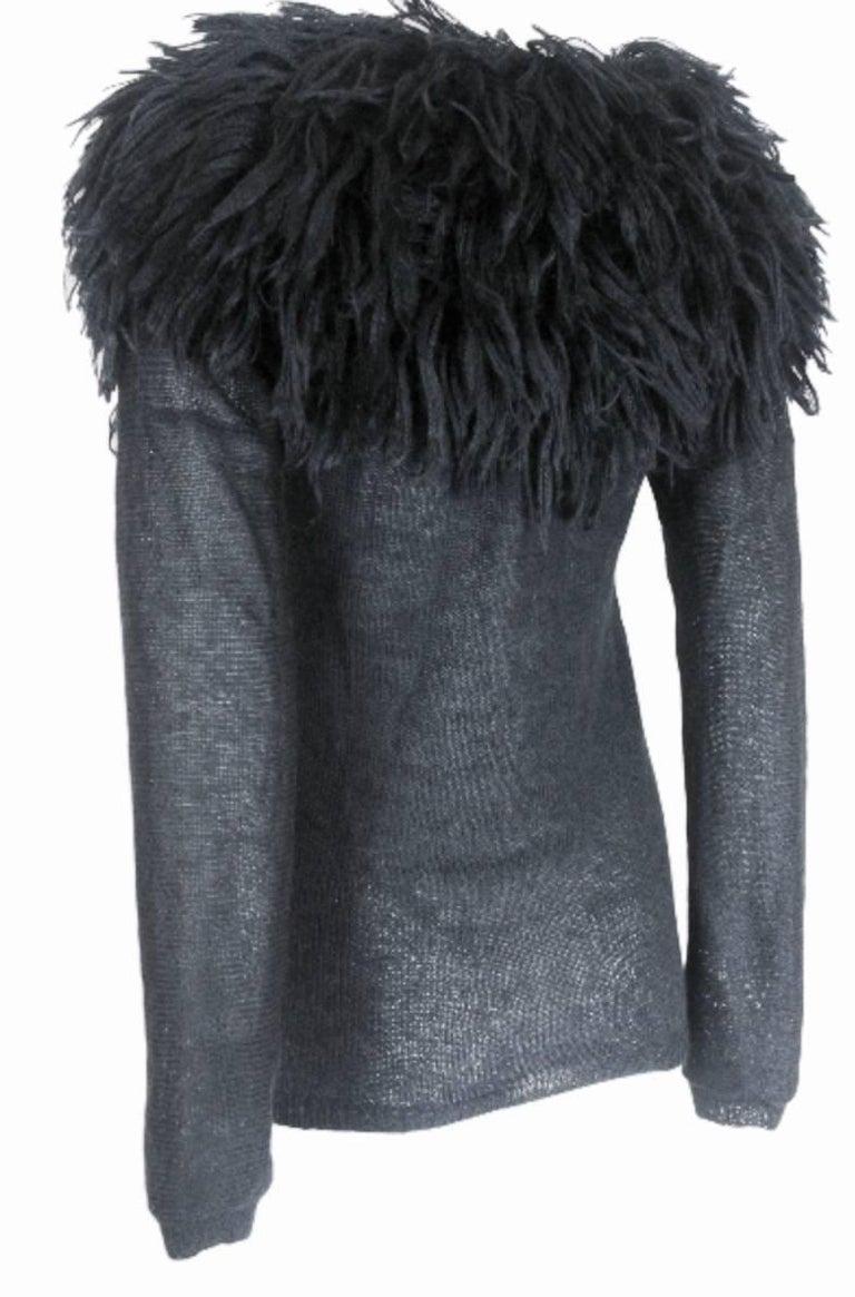 Comme des Garcons 1995 Collection Lion's Mane Sweater 3