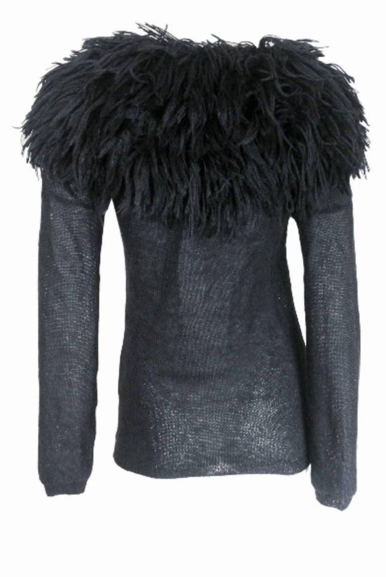 Comme des Garcons 1995 Collection Lion's Mane Sweater 4