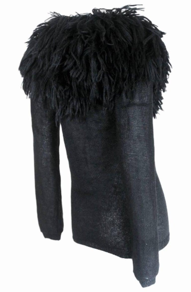 Comme des Garcons 1995 Collection Lion's Mane Sweater 5