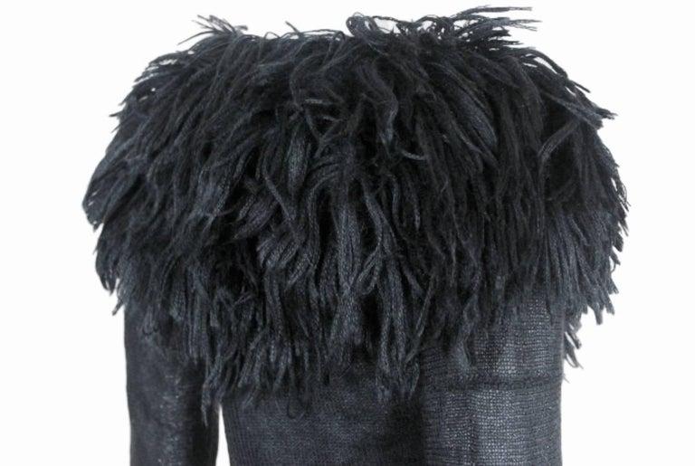Comme des Garcons 1995 Collection Lion's Mane Sweater 6