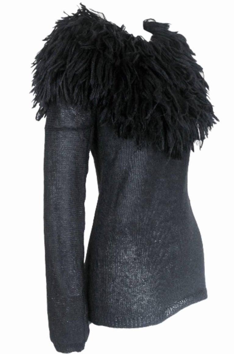 Comme des Garcons 1995 Collection Lion's Mane Sweater 7