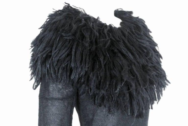 Comme des Garcons 1995 Collection Lion's Mane Sweater 8