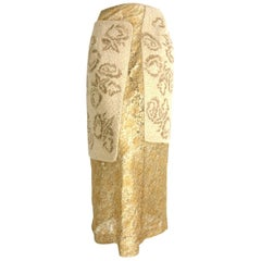 Comme des Garçons 1997 Collection Ad Campaign Skirt