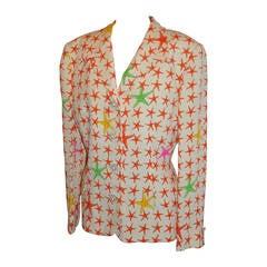 Gianni Versace 'Couture' StarFish Silk Jacket