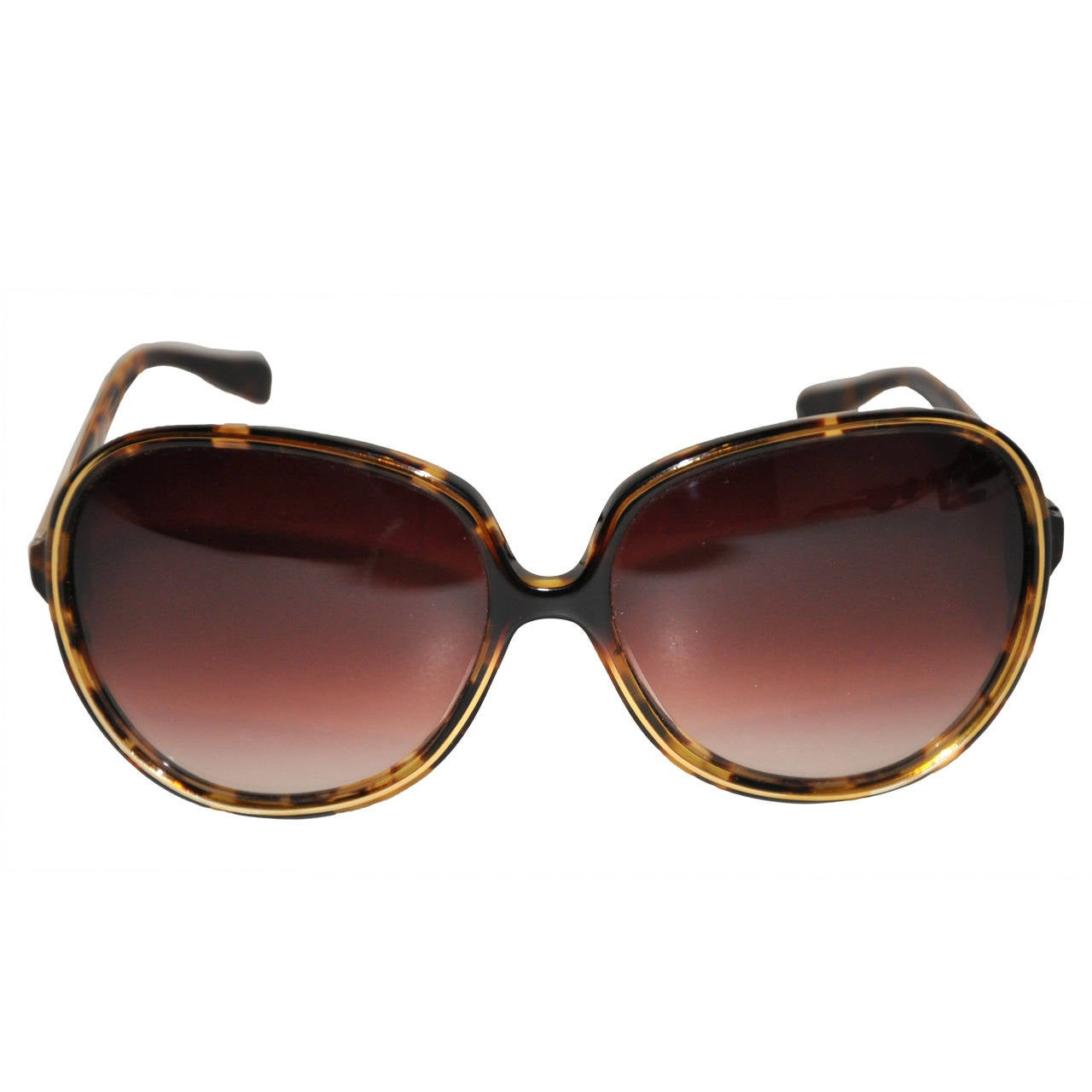 "Oliver People ""Sofiane"" Tortoise Shell Sunglasses For Sale"