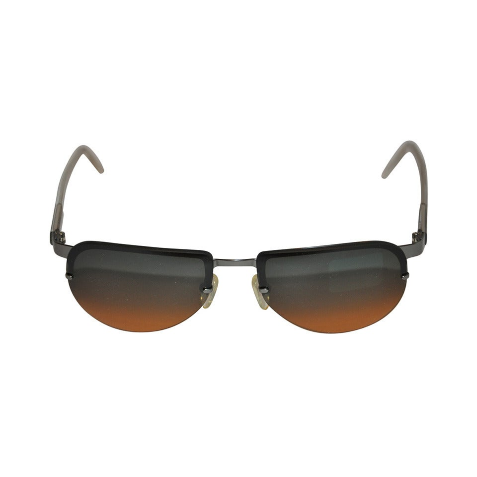 Byblos Detailed Frame Sunglasses For Sale