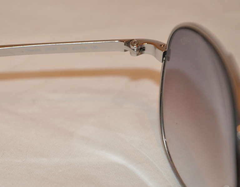 8959e435b1 Tom Ford Silver hardware Sunglasses In Excellent Condition For Sale In New  York