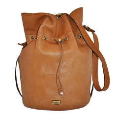 """Ferre """"Limited Edition"""" Lambskin with Ostrich Hobo Shoulder Bag"""