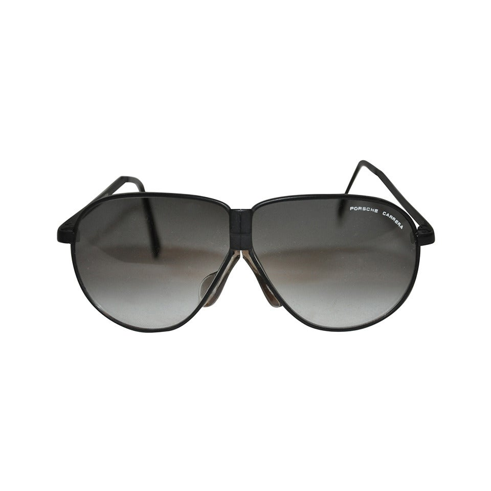 1f25d50c88f Porsche Carrera Black Hardware Folding Sunglasses For Sale at 1stdibs