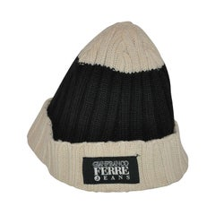 Gianfranco Ferre Stripe Wool Men's Cap