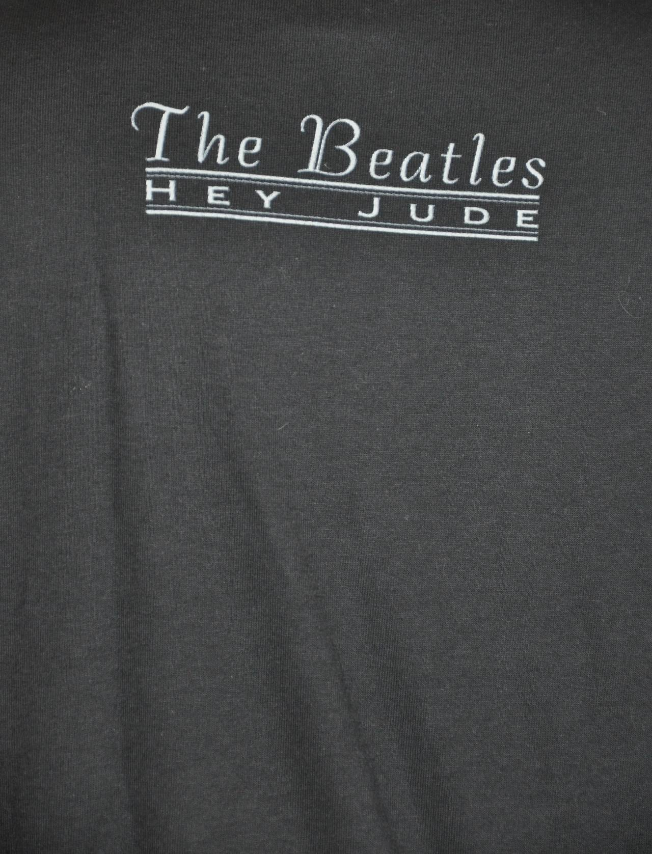 "The Beatles ""Hey Jude"" 1999 Sold Out Concert T-Shirt 4"