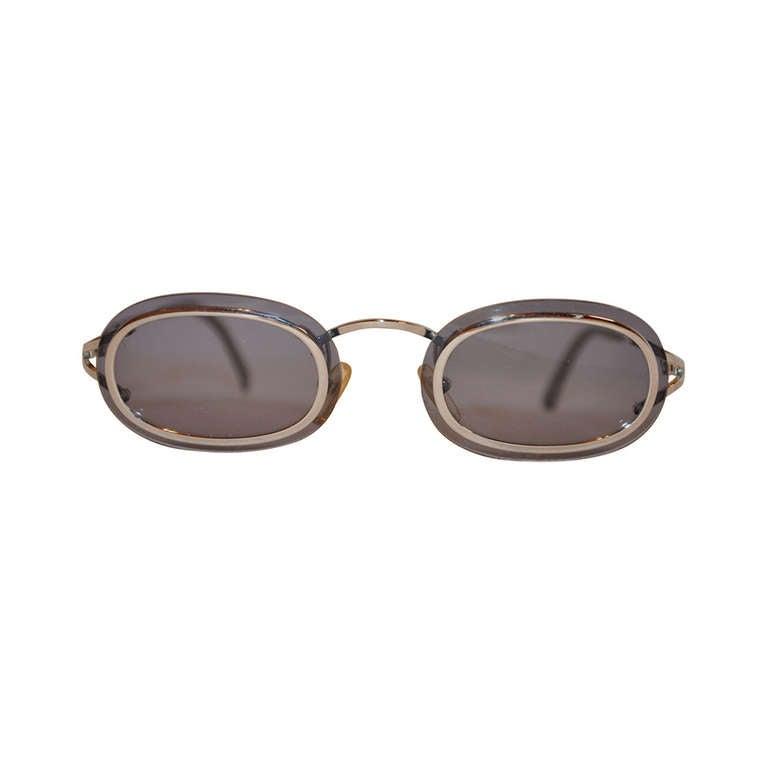 1493408ac1e0 Christian Dior Unique Inner-Framed Sunglasses For Sale at 1stdibs