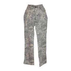 Roberto Cavalli Multi-Floral Stetch Jeans