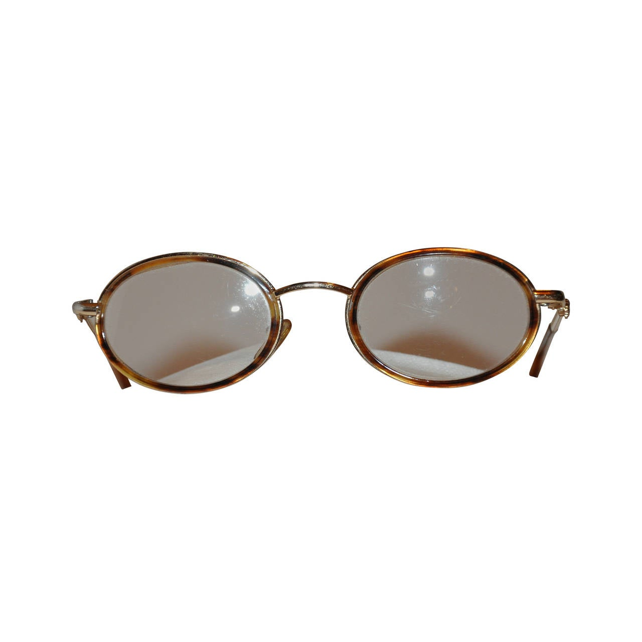 gianni versace gold hardware frame with tortoise shell