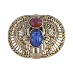 Rare Mary McFadden Egyptian Brooch/Clip