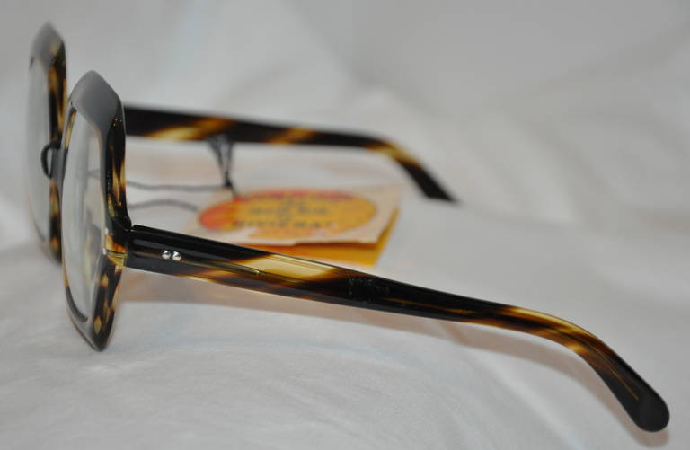 Riviera Huge Thick Tortoise Shell Glasses With Original