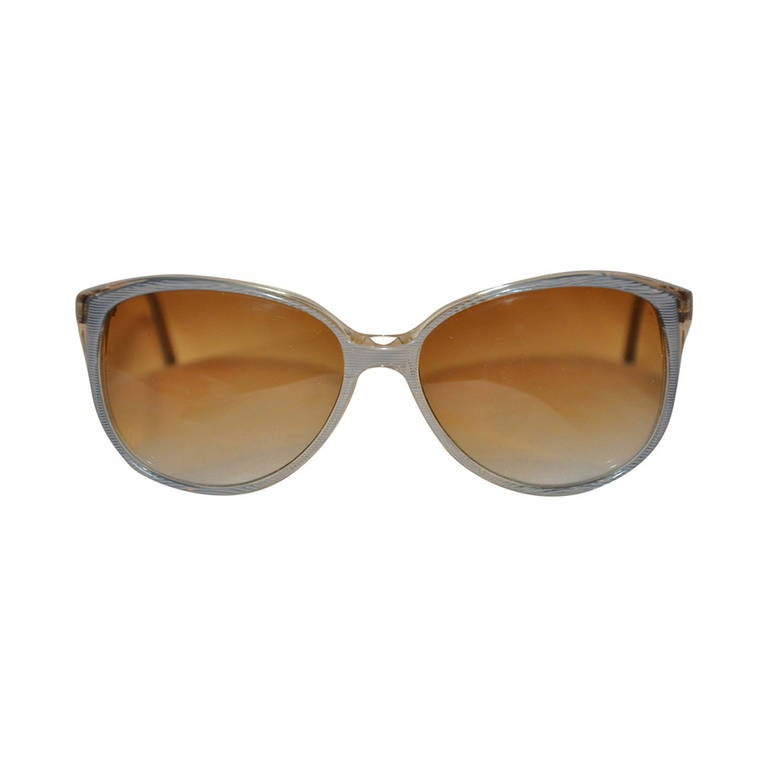Clear & Stripes Sunglasses