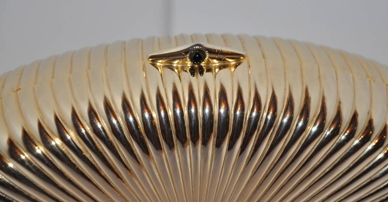 1stdibs Burdines Gilded Gold Hardware Evening Clutch & Shoulder Bag KEiFYg