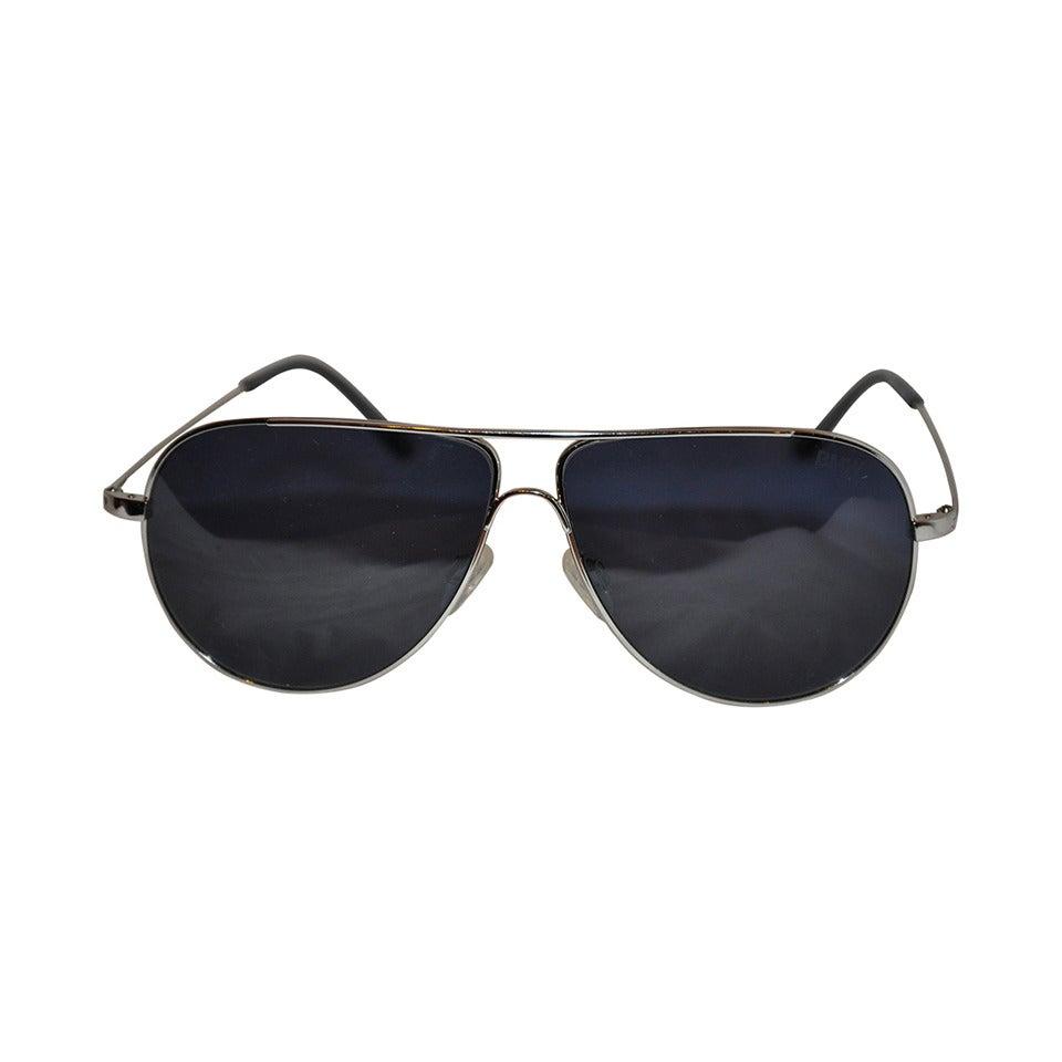 BMW Men's Gold Hardware Frame Sunglasses 1