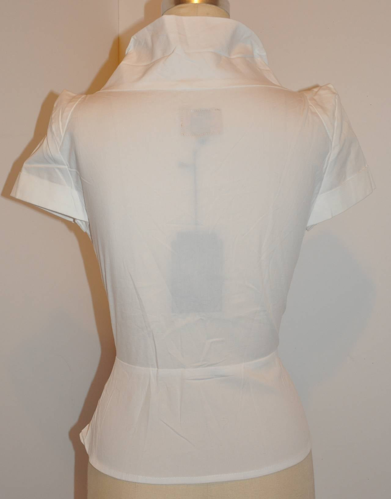 Vivienne Westwood White Deconstructed Top with Tags 5