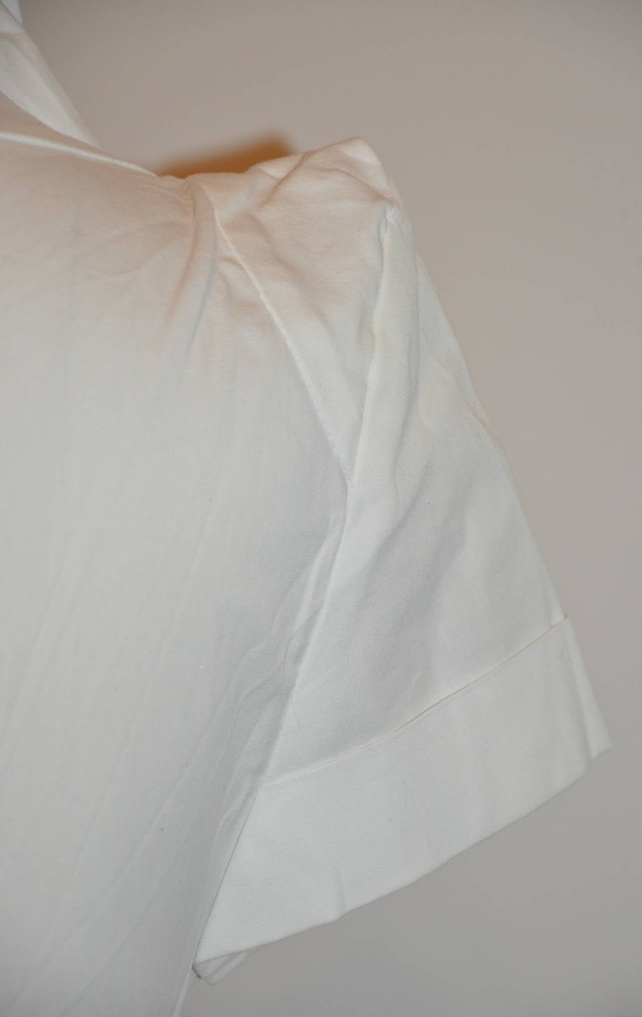 Vivienne Westwood White Deconstructed Top with Tags 6