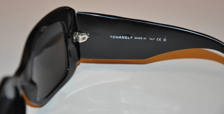 Chanel Thick Black Lucite with