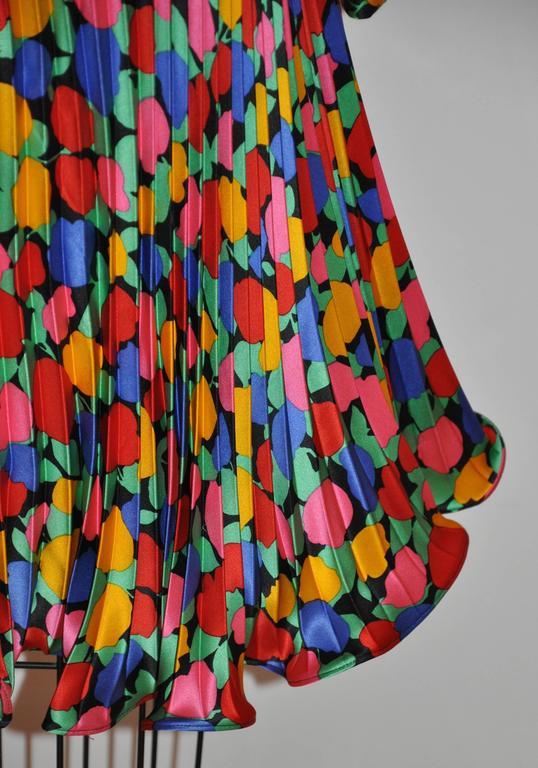 Women's or Men's Scaasi Multi-Color Floral