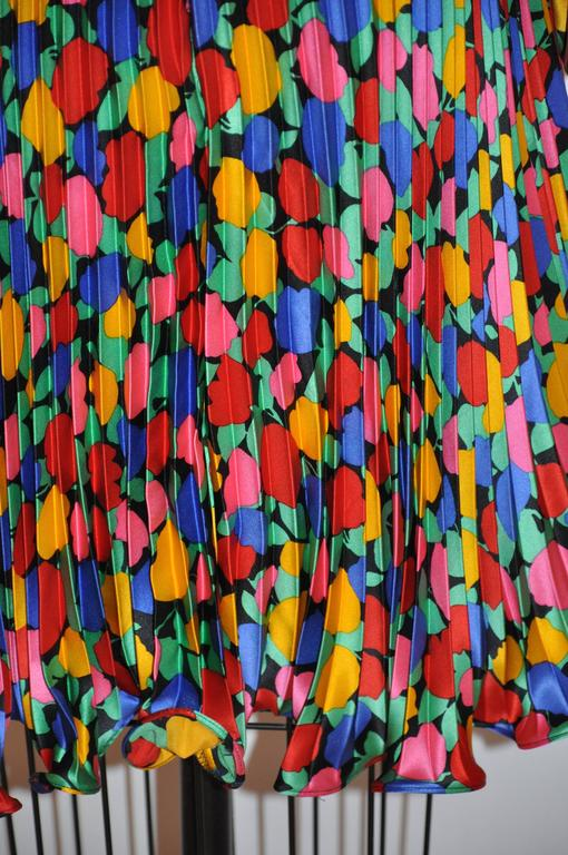 Scaasi Multi-Color Floral