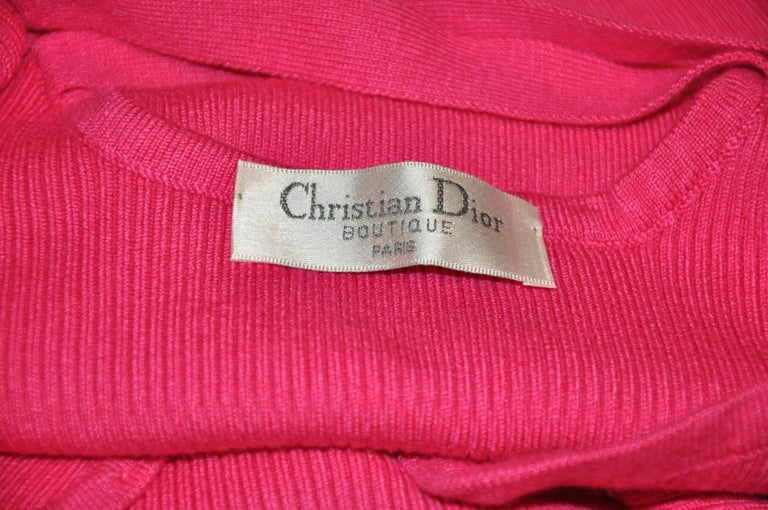 Red Christian Dior