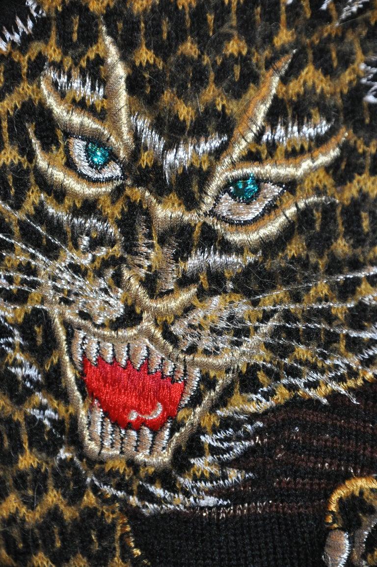 Black Kansai Yamamoto Iconic Embroidered