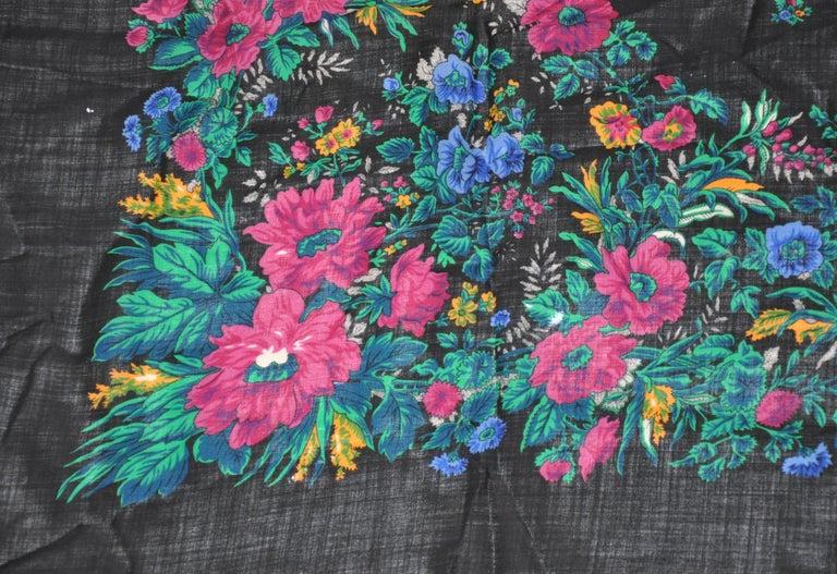 Anne Klein for Saks Fifth Avenue Huge Multicolor