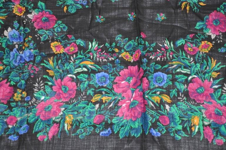 Women's or Men's Anne Klein for Saks Fifth Avenue Huge Multicolor