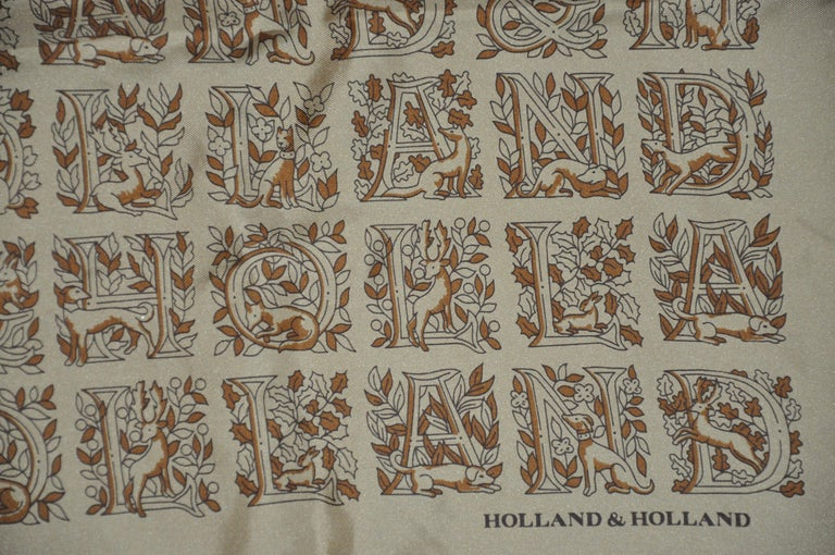 Brown Holland & Holland Olive-Green