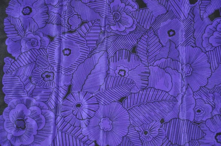 Adrienne Vittadini wonderfully elegant deep violet and blue