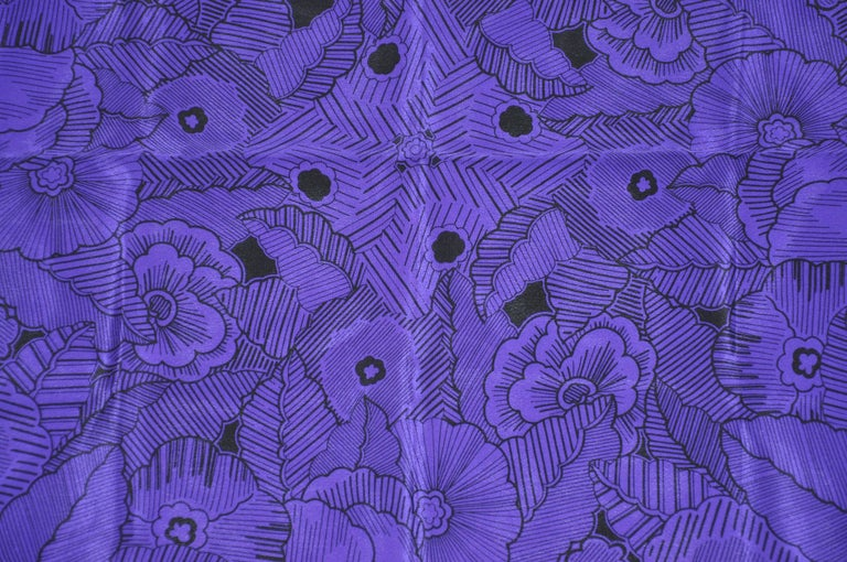 Adrienne Vittadini Elegant Deep Violet & Blue