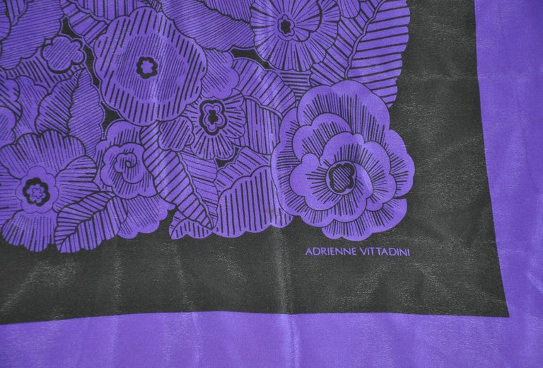 Women's or Men's Adrienne Vittadini Elegant Deep Violet & Blue