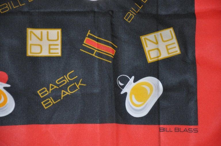 Bill Blass #2 Red and black