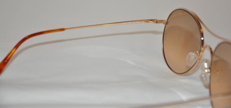 6c4ab765b2 Tom Ford Gold Hardware Sunglass Frame For Sale at 1stdibs