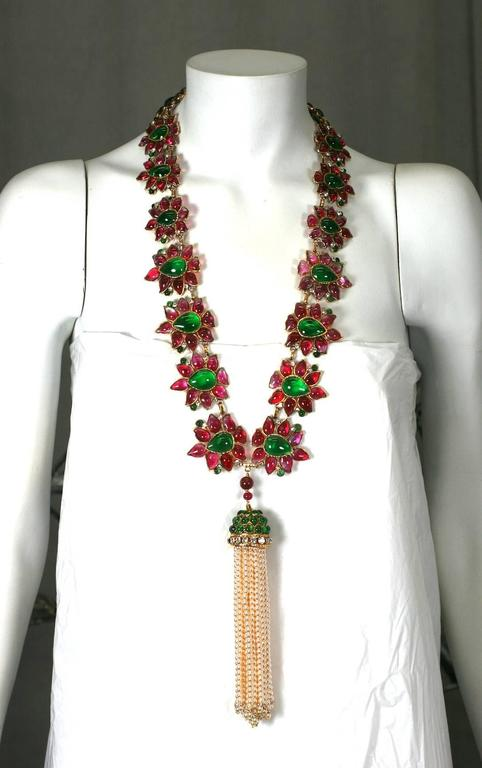 Massive and Important Moghul Style Necklace by Maison Gripoix For Chanel 10