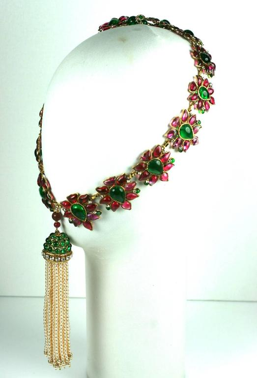 Massive and Important Moghul Style Necklace by Maison Gripoix For Chanel 6