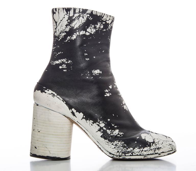 Maison Margiela Painted Tabi Boots