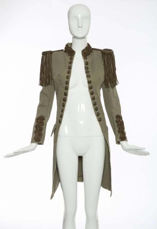 Balmain By Christophe Decarnin Military Jacket, Spring - Summer 2010 2