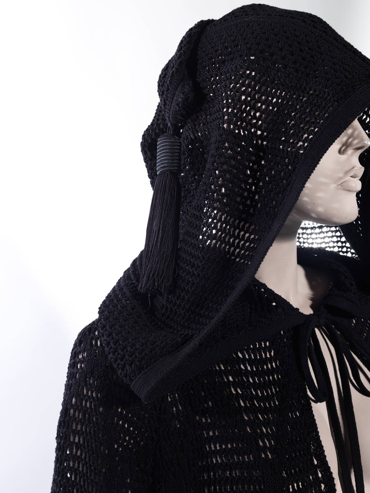 Women's Saint Laurent Spring 2013 Hooded Cape For Sale