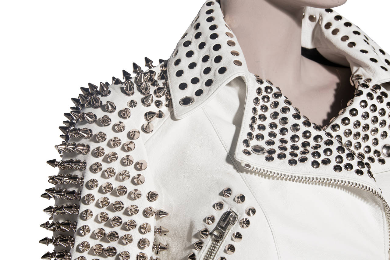 Burberry Brit Studded Leather Jacket 7