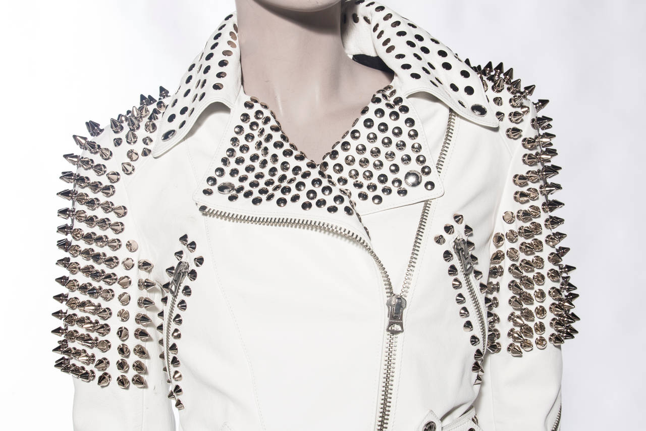 Burberry Brit Studded Leather Jacket 5