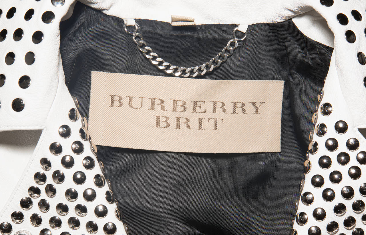 Burberry Brit Studded Leather Jacket 9
