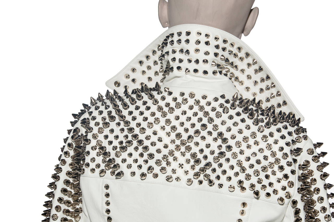 Burberry Brit Studded Leather Jacket 6