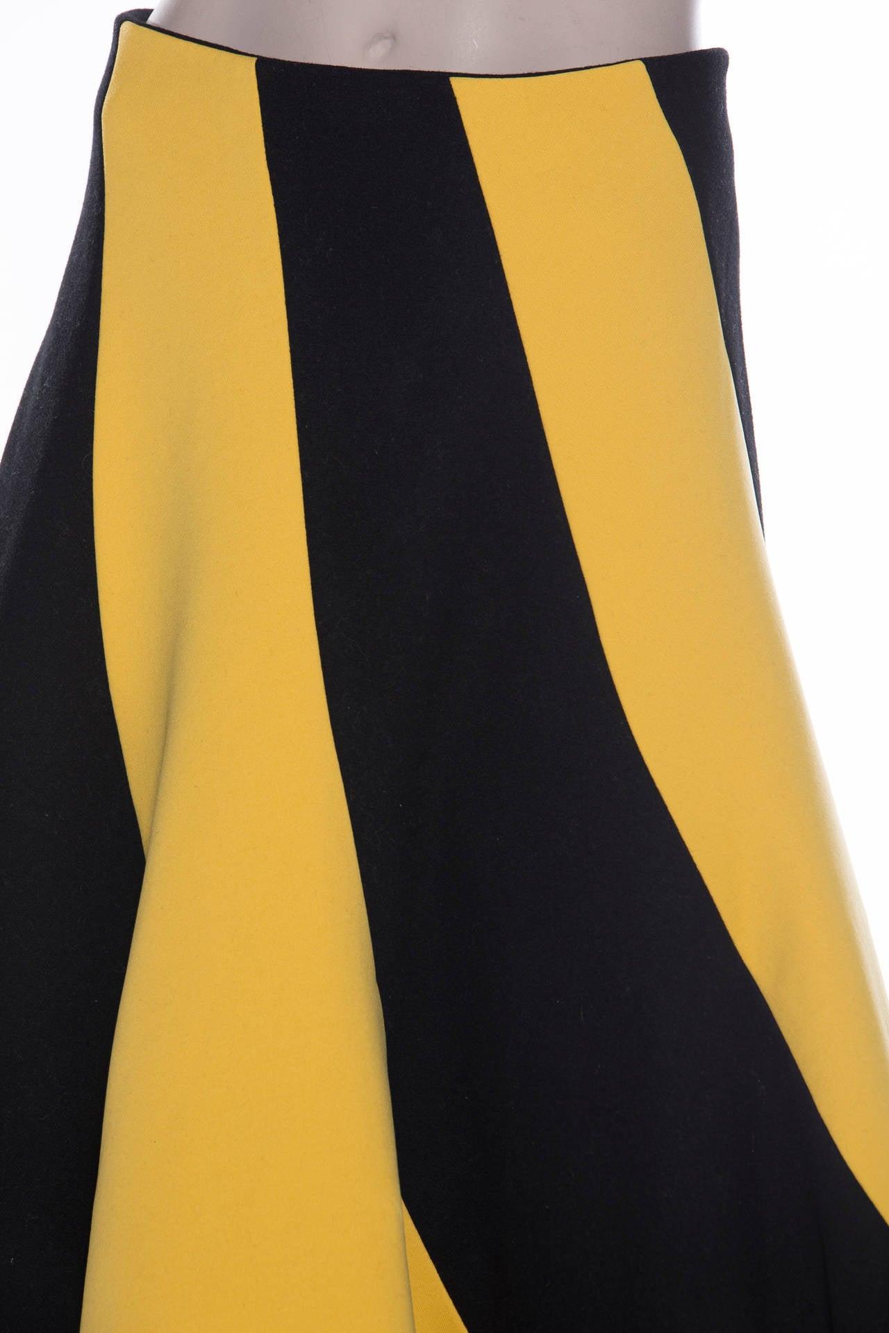 Yohji Yamamoto Circle Skirt, Circa 1990's 4
