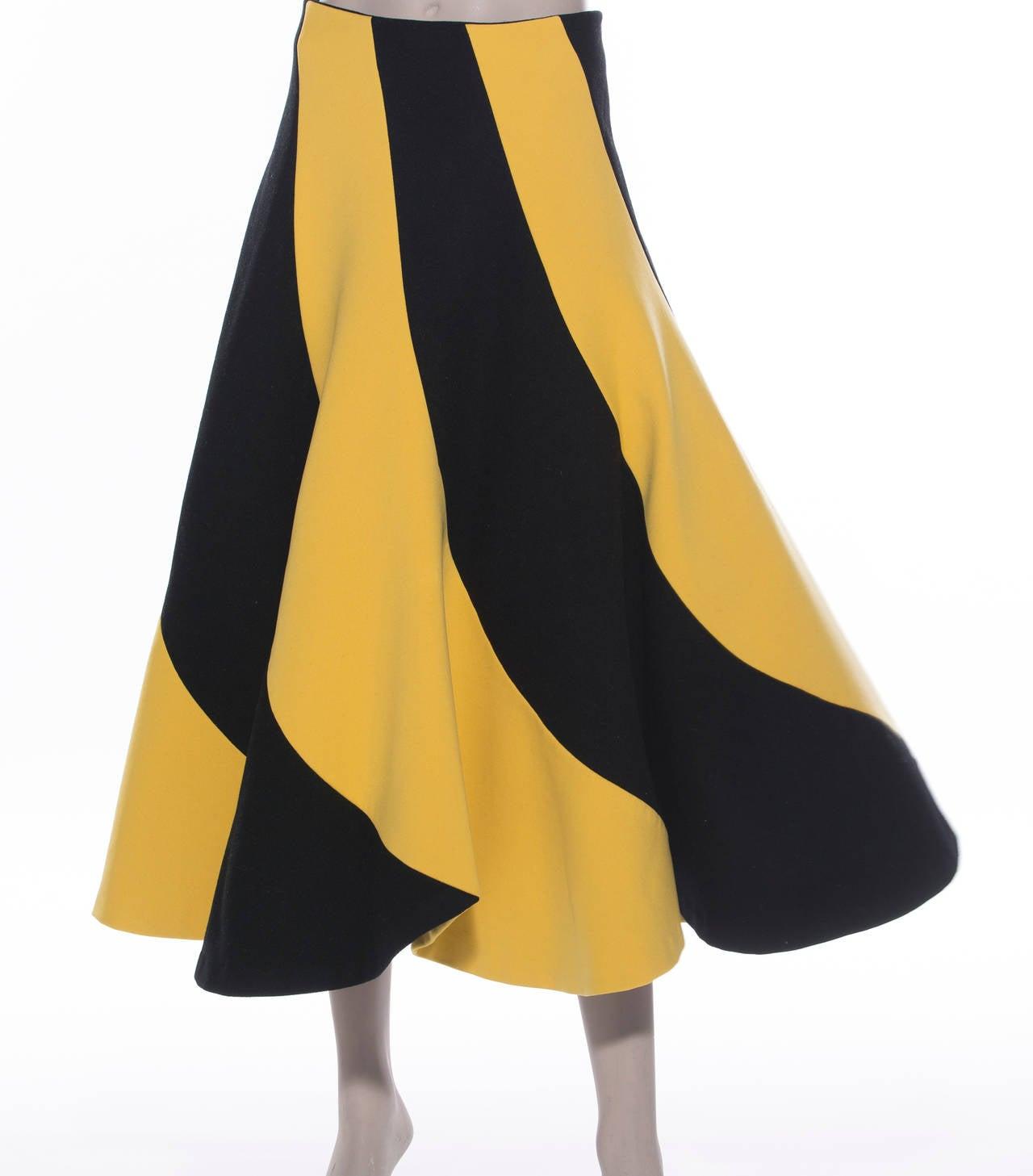 Yohji Yamamoto Circle Skirt, Circa 1990's 7