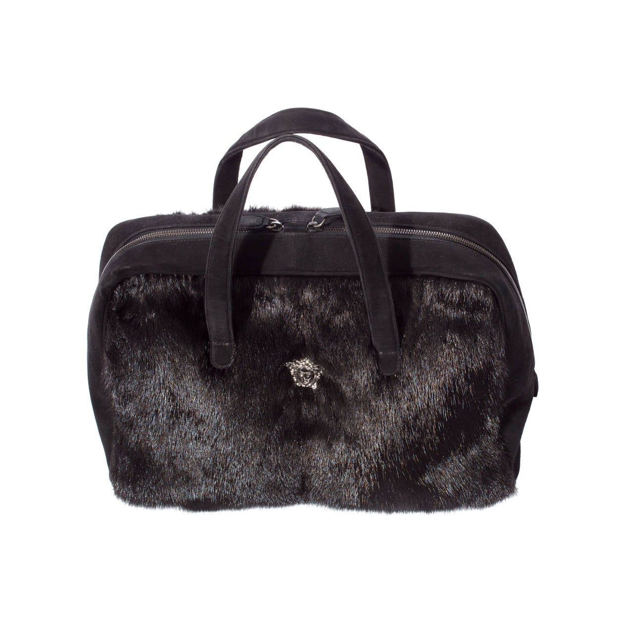 Versace Couture Mink Handbag at 1stdibs